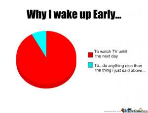 Why I Wake Up Early...