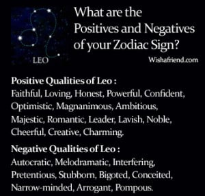 zodiac sign traits find the positives and negatives of your zodiac ...