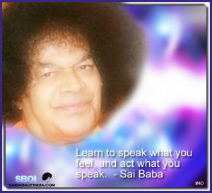 Index: Sai Baba Quotes & sayings