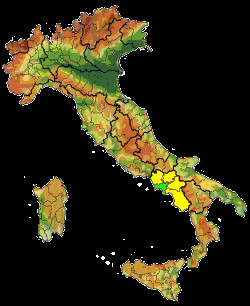 ... road map, satellite or street view map of Naples and surrounding area