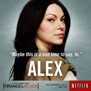 ... Laura Prepon's Return Discussed By Taylor Schilling (Netflix Trailer