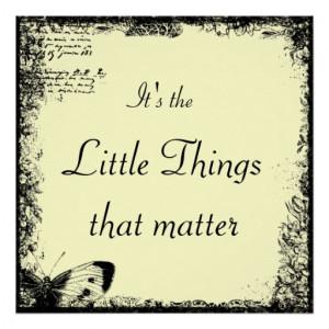 Vintage Inspiring Quote Poster Print