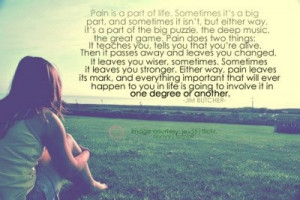 Pain.. but I have learn a lot from it!