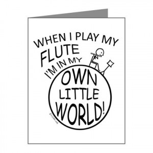 Flute Player Sayings