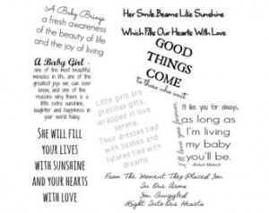 Family Word Art Collection 8 Baby Quotes - Words and Phrases Clip art ...