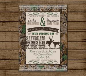 ... Shower, Bridal Shower, Hunting, Redneck Wedding, 5x7 - Digital File