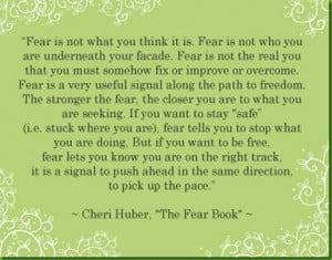 fear quotes on fear quote on fear fear quotes fear quote quote fear ...