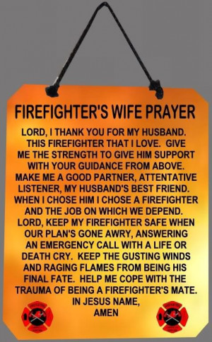 Firefighter Poems | Closing Prayer ReverendCarlThompson ...