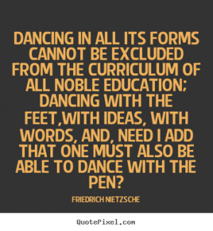 Found Inspirational Dance Quotes...