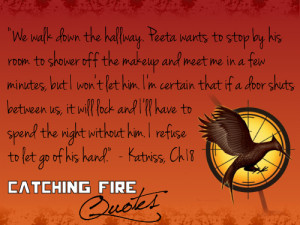 Catching Fire quotes - the-hunger-games Fan Art