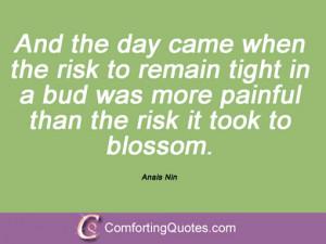 Sayings By Anais Nin