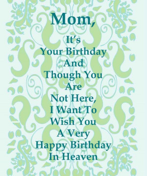 Amazing Happy Birthday Poems for Mom –.