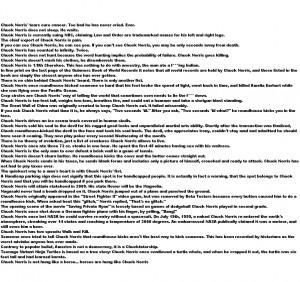 Chuck Norris Quotes HD Wallpaper 4