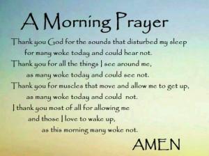 Sunday Morning Prayer Quotes | Sunday Morning Prayer Quotes