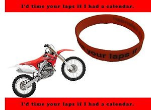 ... -Bracelet-MX-Honda-Fan-Motocross-Silicone-Statement-Funny-Quote