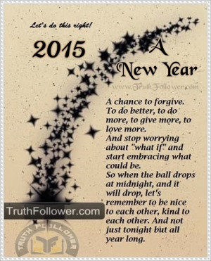Happy New Year 2015 Quote & Sayings