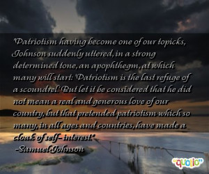 quotes for patriotism