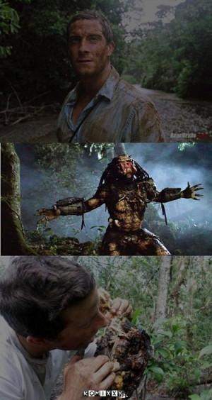 Tags: Bear Grylls , discovery , funny , Predator