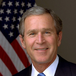 George W. Bush, the 43rd President of the United States
