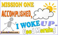 Funny good morning quotes to share on facebook   Funny good morning ...