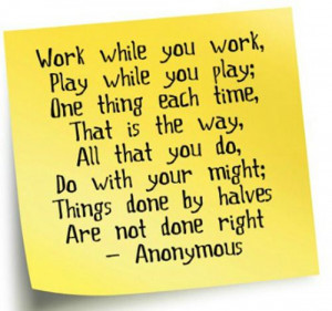 Labor Day Poems: Anonymous Poems About The Balance Between Work ...