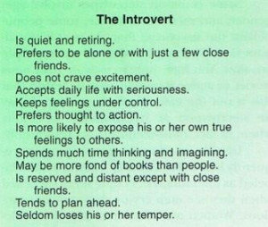 introvert quotes | Via Gwen Neill
