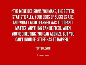Inspirational Quotes On Decision Making