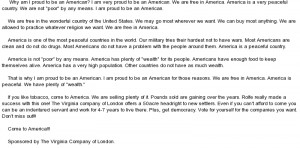 Why im proud to be an american essay
