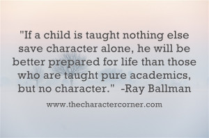 Character Quotes For Kids Ray ballman quote. character