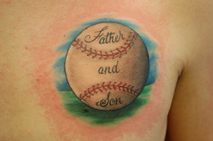 Awesome List of Baseball Tattoo Designs - 12
