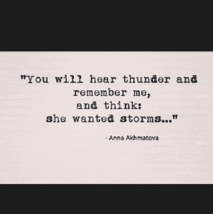 Quotes. Thunder