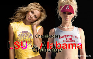 Tonight in the U.S. we will be watching LSU-Alabama in the BCS ...