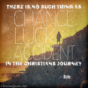 Ryle Quote – No Such Thing as Luck