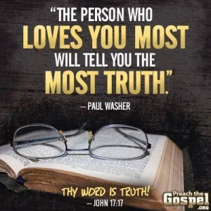 Paul Washer on love and truth.