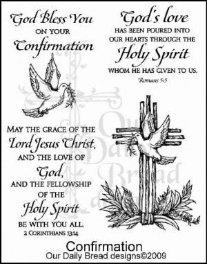 catholic confirmation quotes catholic confirmation scripture verses ...