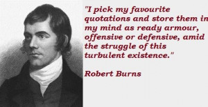 Robert burns famous quotes 4