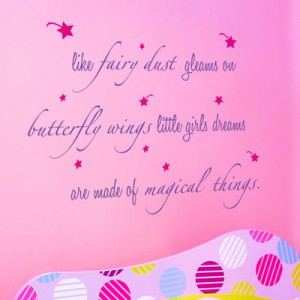 Home » Quotes » Like Fairy Dust - Quote - Wall Decals