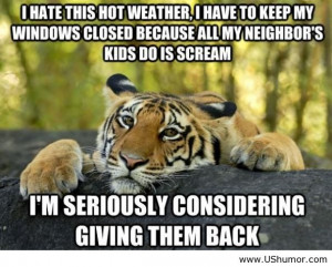 Funny Quotes About Hot Weather