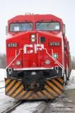 Canadian Railroads > CP Train 111 with Unstoppable Movie unit repaints