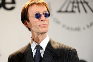 ... of the colon, Bee Gees singer, Robin Gibb, is on the road to recovery