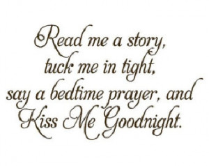 ... Wall Decal - Nursery Poem Quote Saying Bedtime Prayer 22H x 36W BA0055
