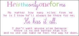 ... is the one when god tells you so you know he is the one when the love