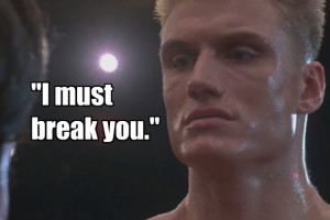 Putting aside the fact that Ivan Drago should have been jailed for ...