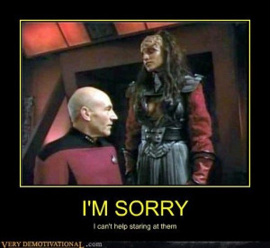 One Pervy Captain Picard...a man after my own heart