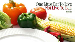Eating right is a lifestyle. With anything in life we hit bumps in ...