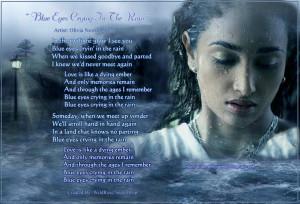 Blue Eyes Crying in the Rain - Olivia Newton-John