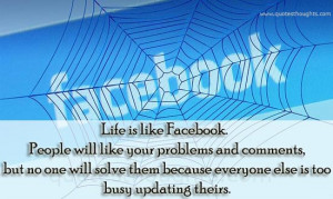 nice quotes about life for facebook