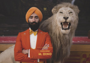 Waris Ahluwalia, The Grand Budapest Hotel. ( Official Site )