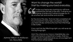 Admiral William H. McRaven More
