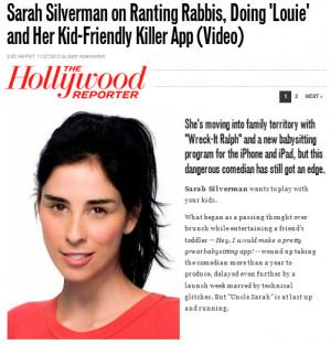 Sarah Silverman Quotes
